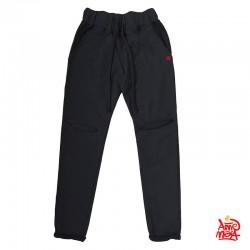 Pantalone in felpa con risvolto